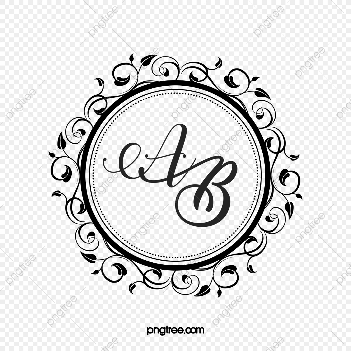 Wedding Monogram Png Vector Psd And Clipart With Transparent Background For Free Download Pngtree