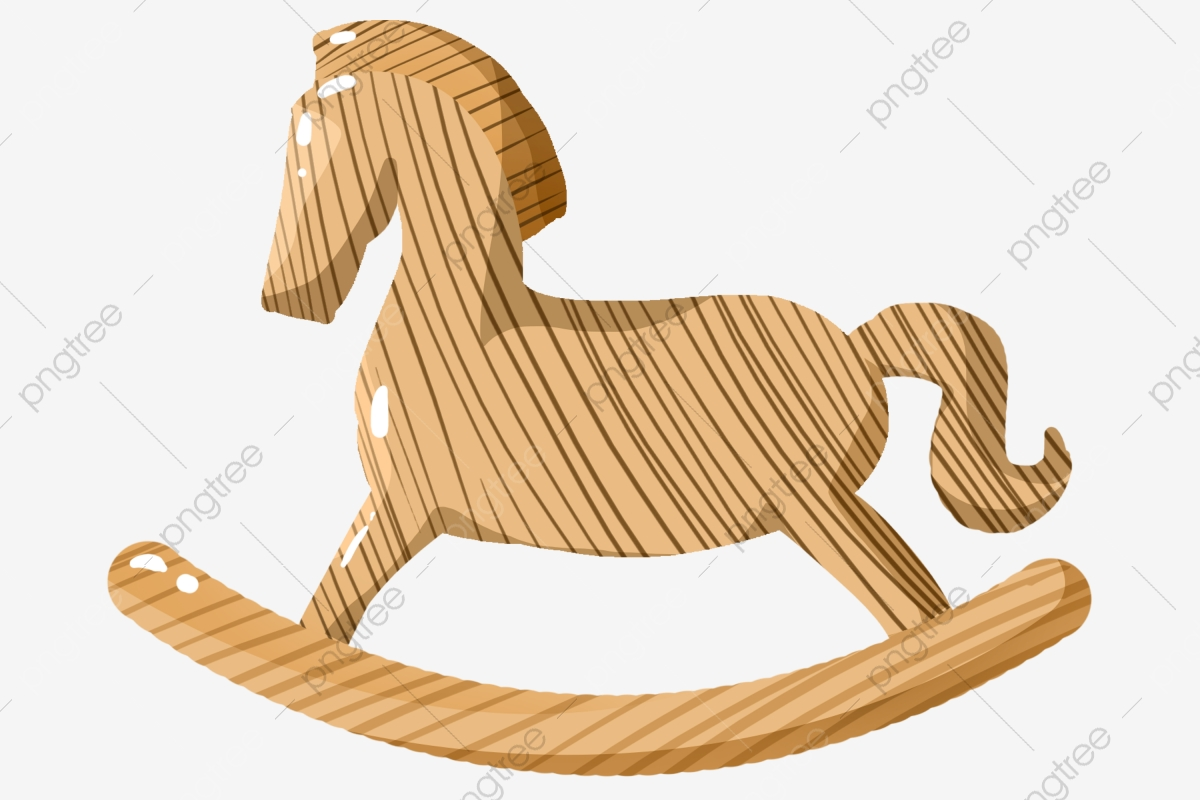 Wooden Toy Wooden Horse Illustration Wooden Trojan Cartoon Illustration Wooden Illustration Png Transparent Clipart Image And Psd File For Free Download