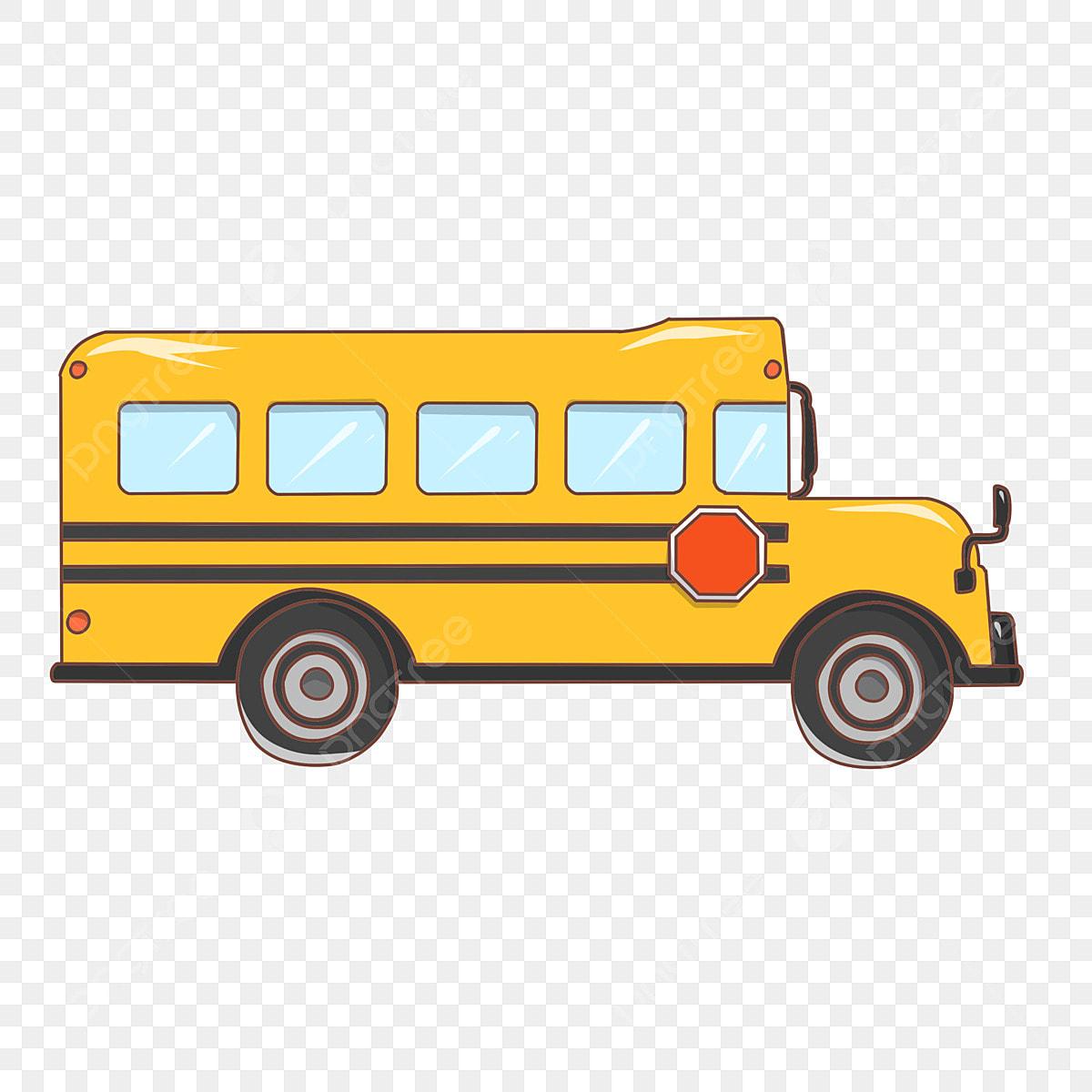 Autobus Scolaire Jaune Illustration D Autobus Scolaire