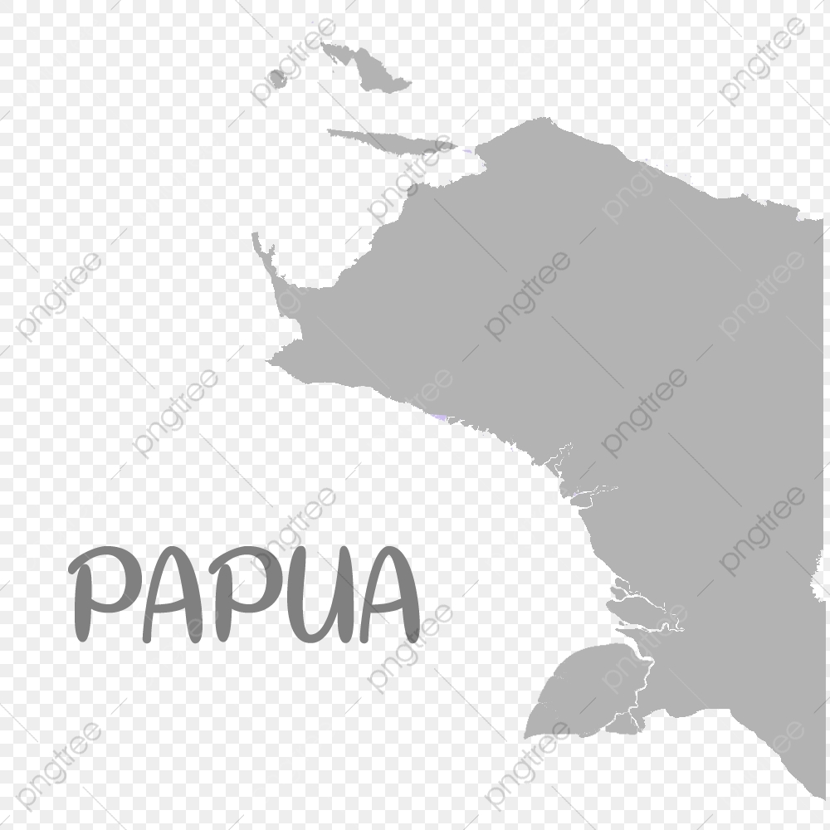 Gambar Berkualiti Peta Papua Adalah Wilayah Indonesia Peta Ilustrasi Grafik Png Dan Vektor Untuk Muat Turun Percuma