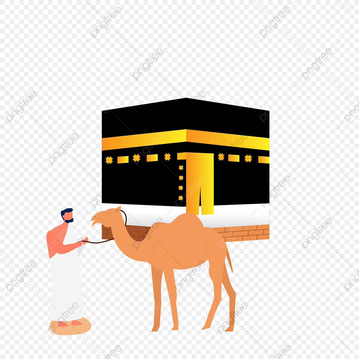 kabah png images vector and psd files free download on pngtree https pngtree com freepng beautifull mekkah kaabah building with haji people and camel animal 4869698 html