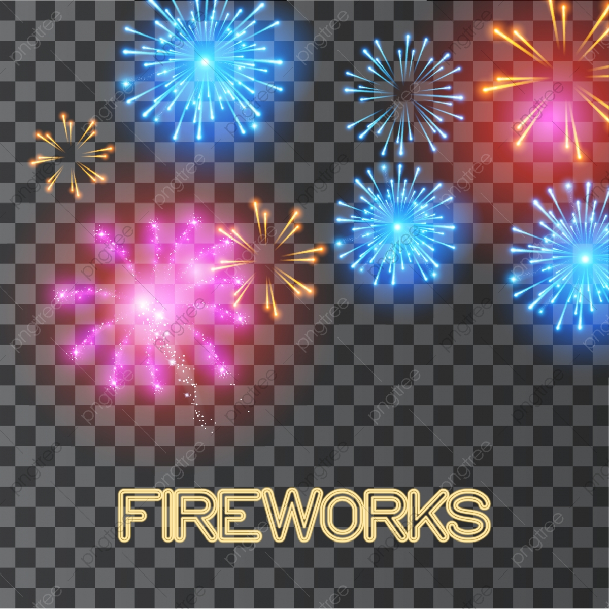Fireworks Transparent PNG Clip Art Image | Gallery Yopriceville -  High-Quality Images and Transparent PNG Free Clipart