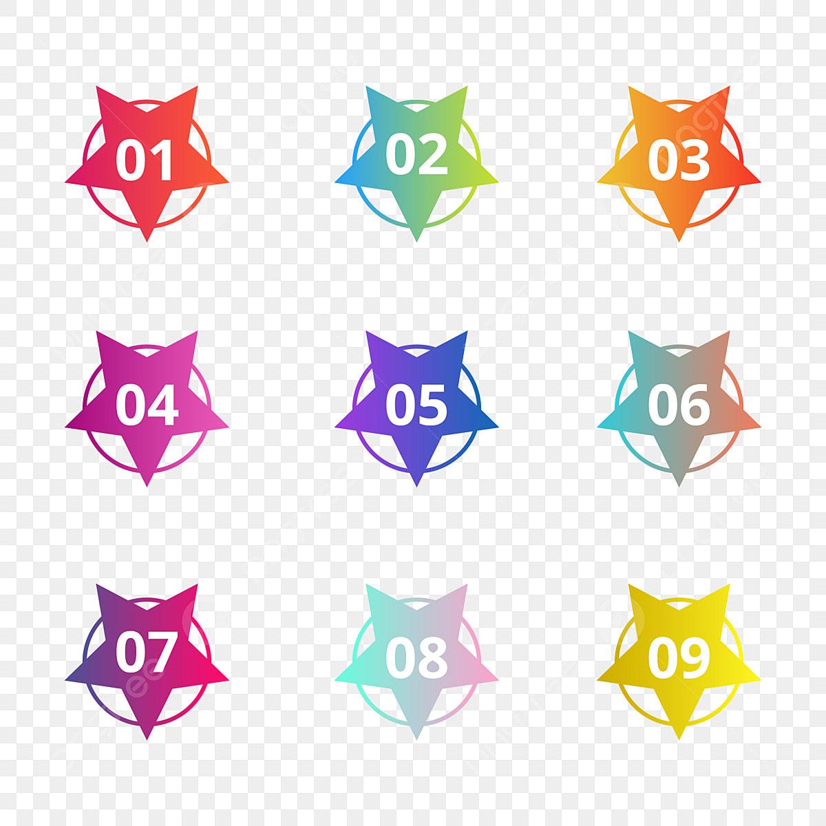 Number bullet points flat circles transparent — Stock Vector ©  leberus777.gmail.com #145519963