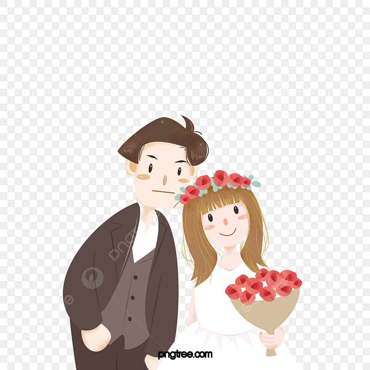 Pasangan Menembak Gambar Perkahwinan Suka Pasangan
