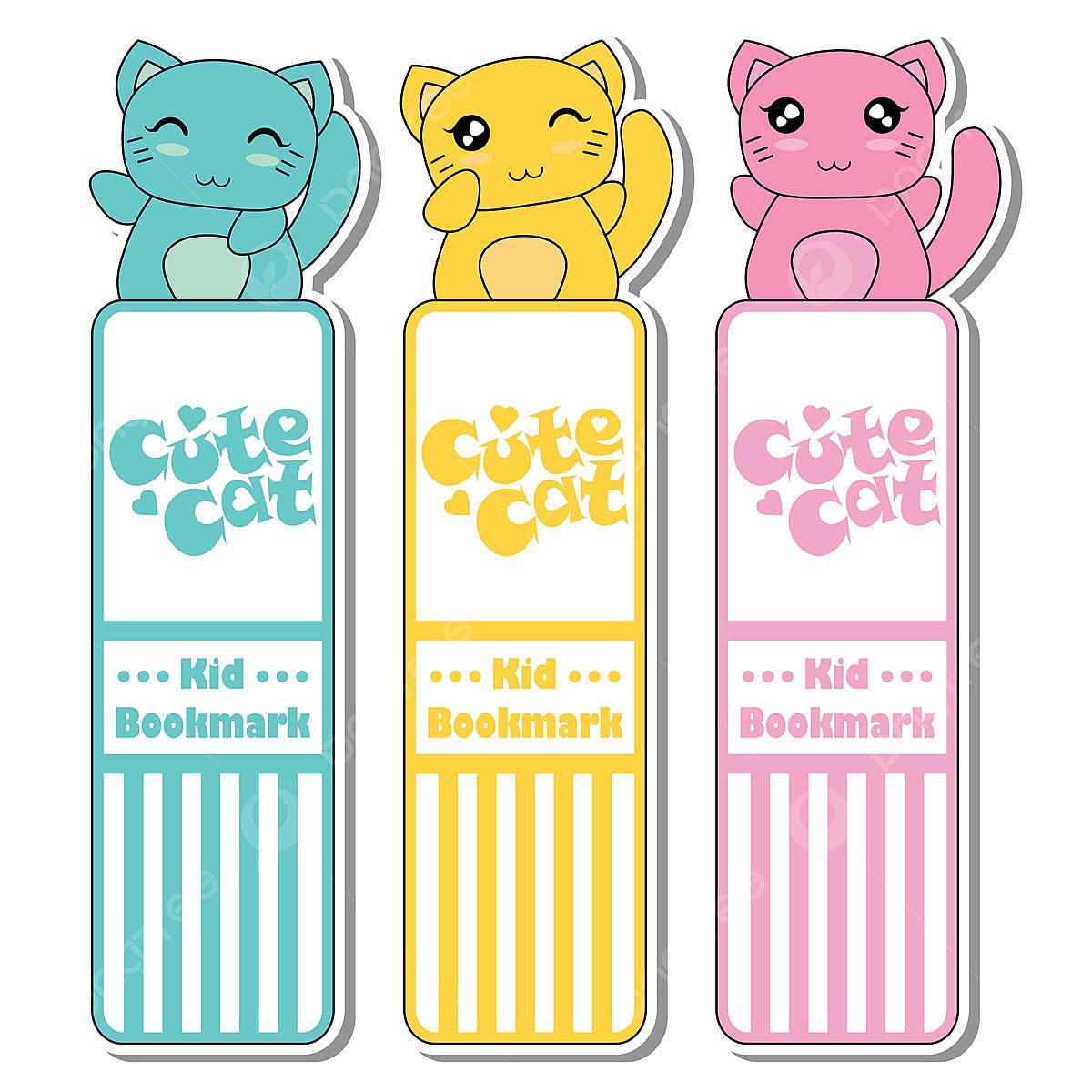 Gatos Coloridos Bonitos Ilustracao Dos Desenhos Animados Para