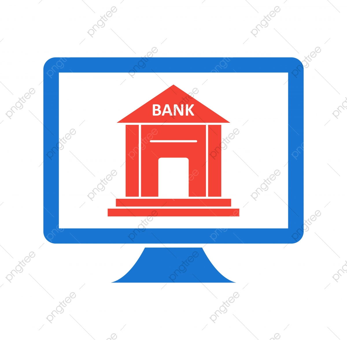 Internet Banking Icon In Trendy Style Isolated Background Internet Icons Style Icons Background Icons Png And Vector With Transparent Background For Free Download