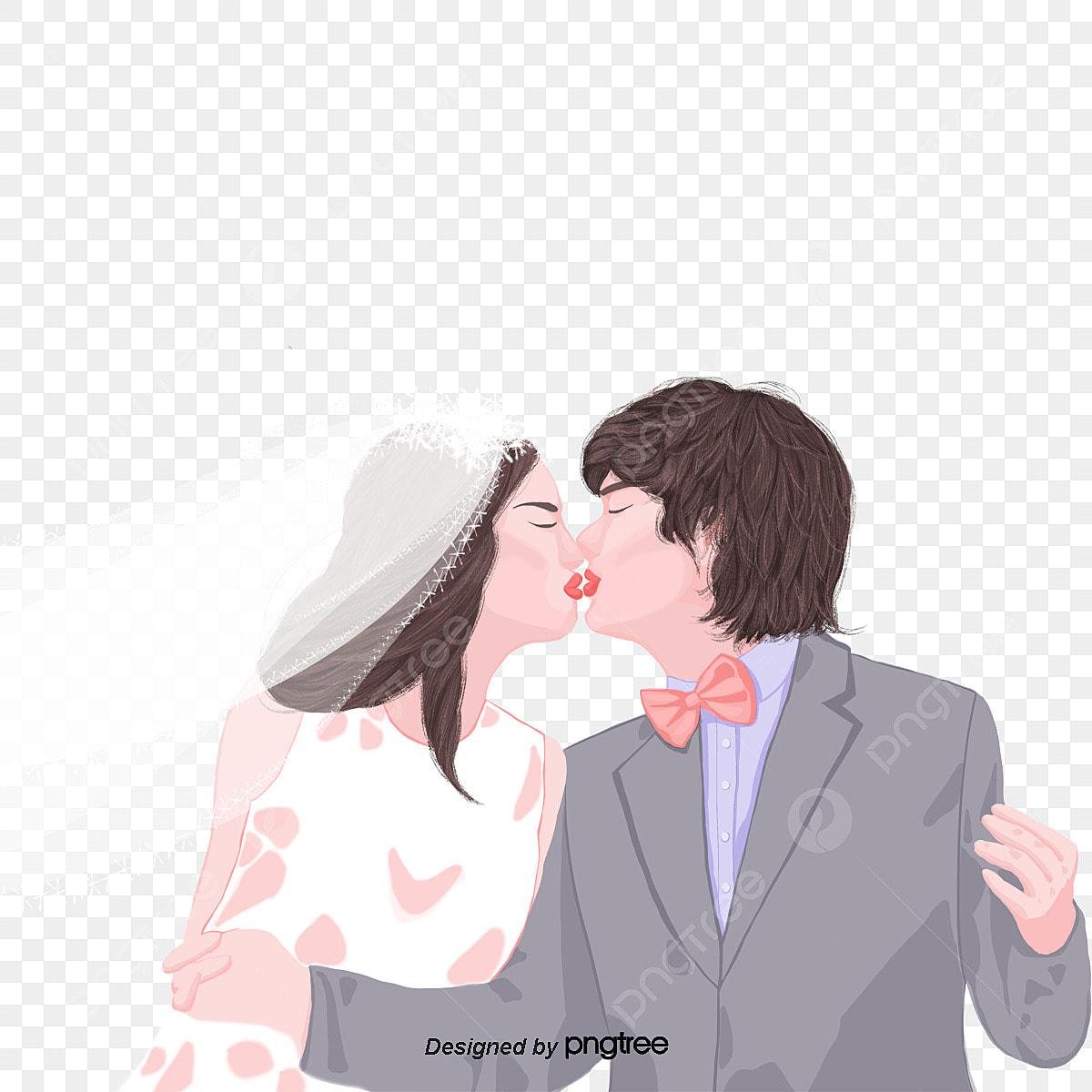 Gambar Pasangan Romantis Mencium Gambar Perkahwinan Romantik Pasangan Cium Png Dan Psd Untuk Muat Turun Percuma
