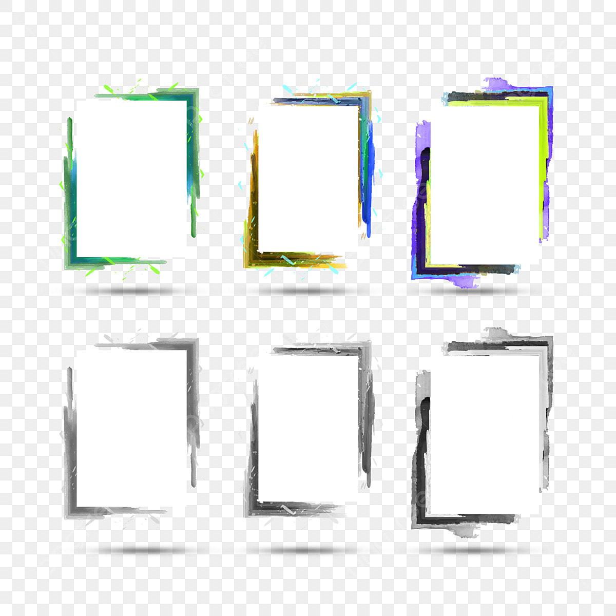 Cornici Colorate Per Foto bordi eleganti cornici vettoriali e png, astratto, sfondo