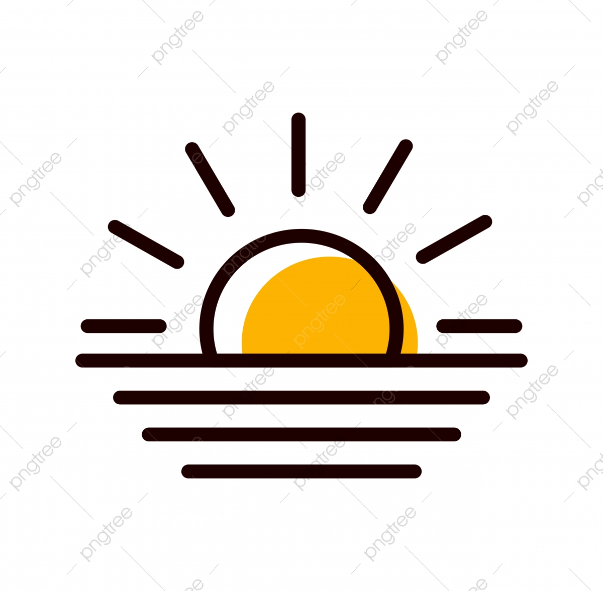 sunset icon png vector psd and clipart with transparent background for free download pngtree https pngtree com freepng sunset icon design 4816805 html