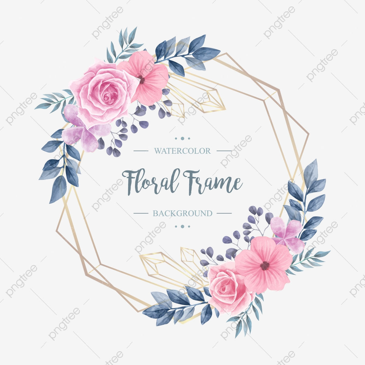 wedding vintage watercolor floral flower frame background pattern flower png and vector with transparent background for free download https pngtree com freepng wedding vintage watercolor floral flower frame 4844492 html