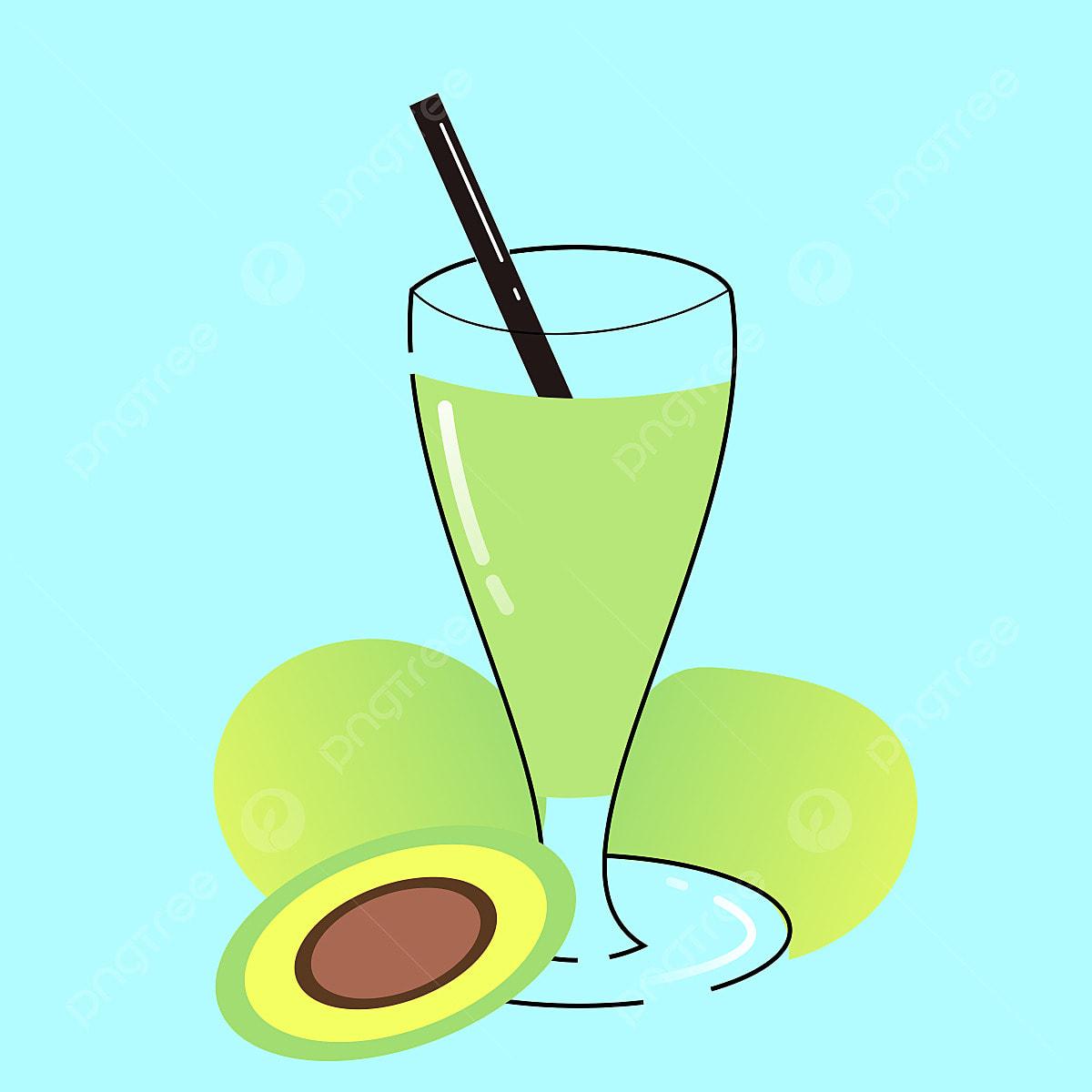 gambar vektor jus alpukat jus vektor alpukat png dan clipart untuk muat turun percuma https ms pngtree com freepng avocado juice vector 4992623 html