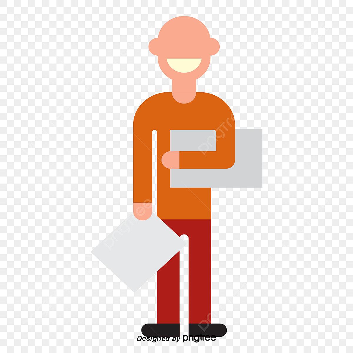 Folder Aksara Lelaki Botak Kepala Botak Lelaki Watak