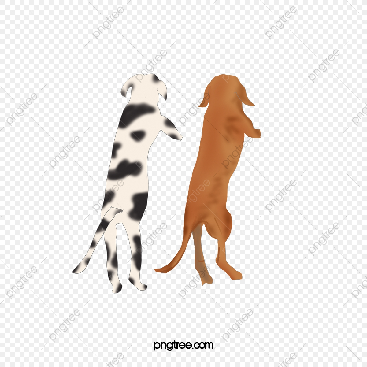 Cartoon Animal Dog Back Pet Cartoon Animal Dog Png Transparent Clipart Image And Psd File For Free Download