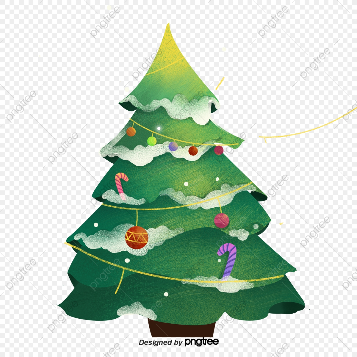 cartoon christmas tree png vector psd and clipart with transparent background for free download pngtree https pngtree com freepng cartoon christmas tree 4879844 html