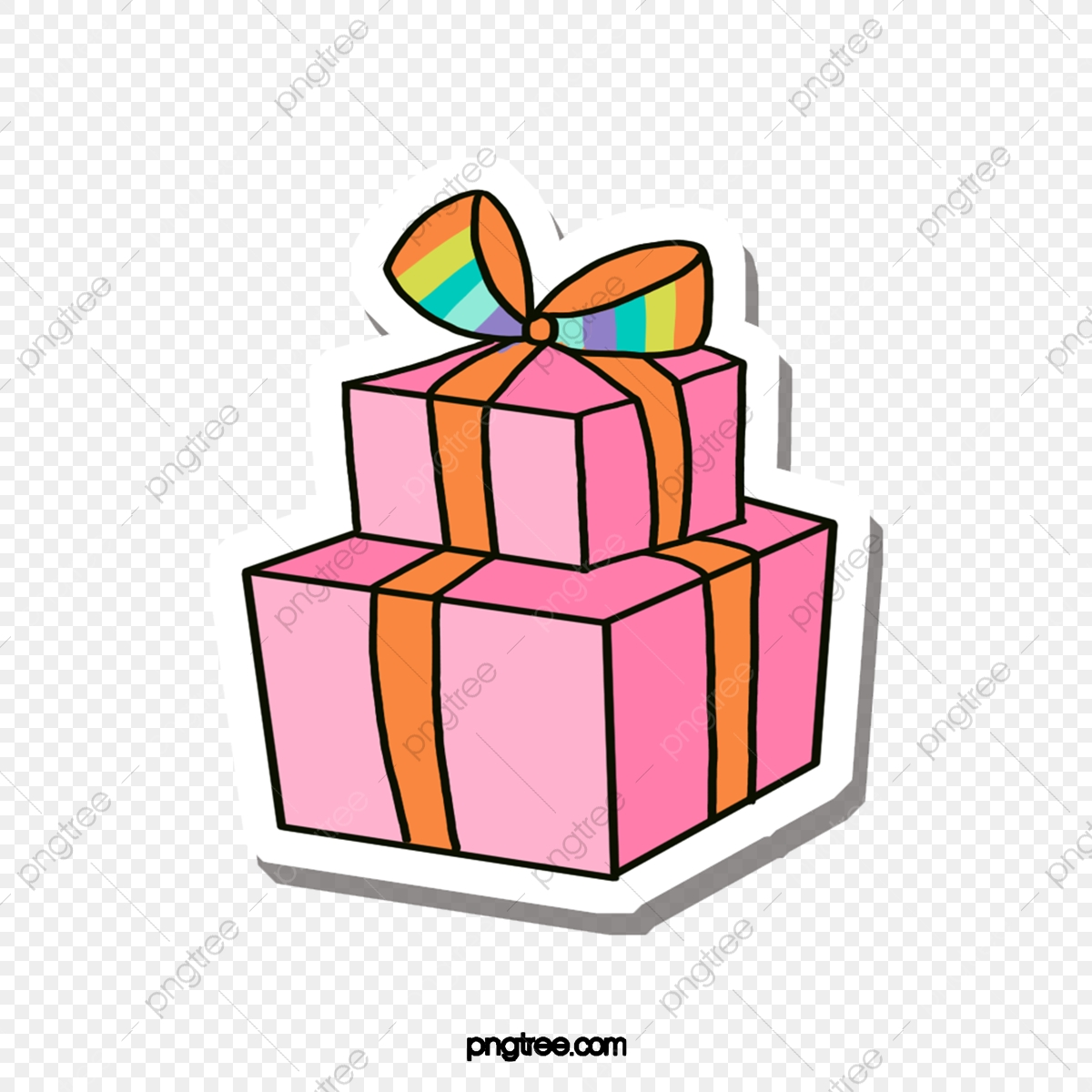 42+ Gift Png Cartoon Pics