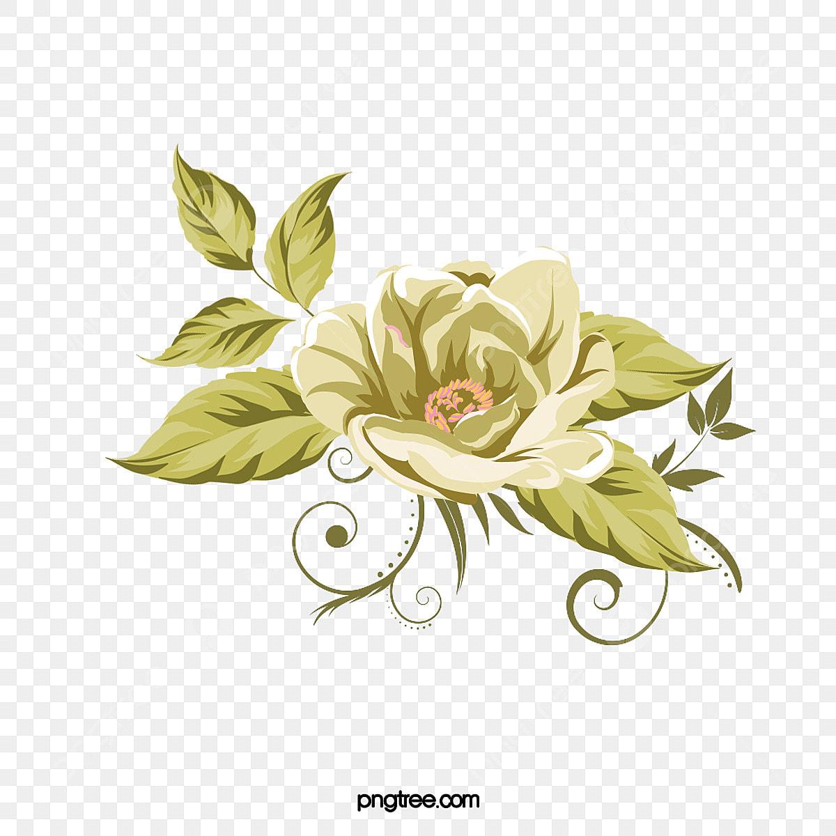 Ilustracao De Flor Delicada Dos Desenhos Animados Cartoon A