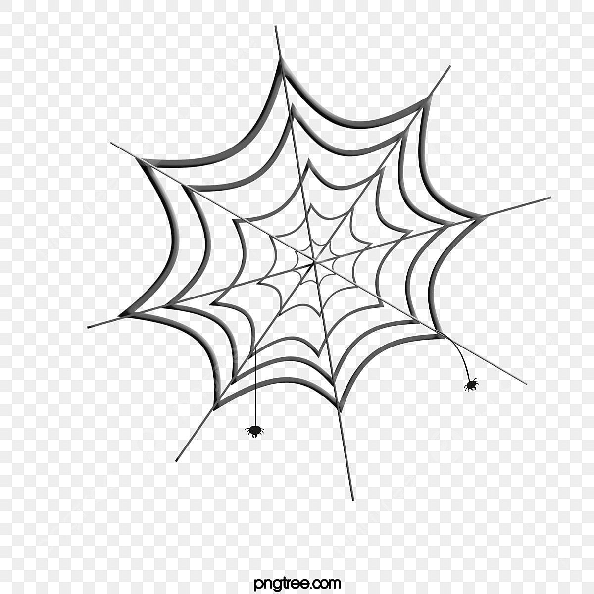 漫画テクスチャクモの巣かわいいイラスト 蜘蛛の巣 黒 精緻で