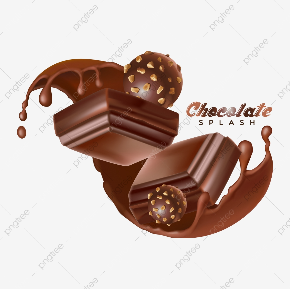 chocolate liquid splash and chocolate ball vector badge illustration sugar object glossy png and vector with transparent background for free download https pngtree com freepng chocolate liquid splash and chocolate ball vector badge illustration 4925241 html
