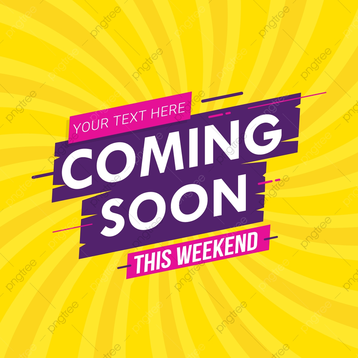 Coming Soon Banner Vector Illustration Backgrounds Speech Banner Png And Vector With Transparent Background For Free Download