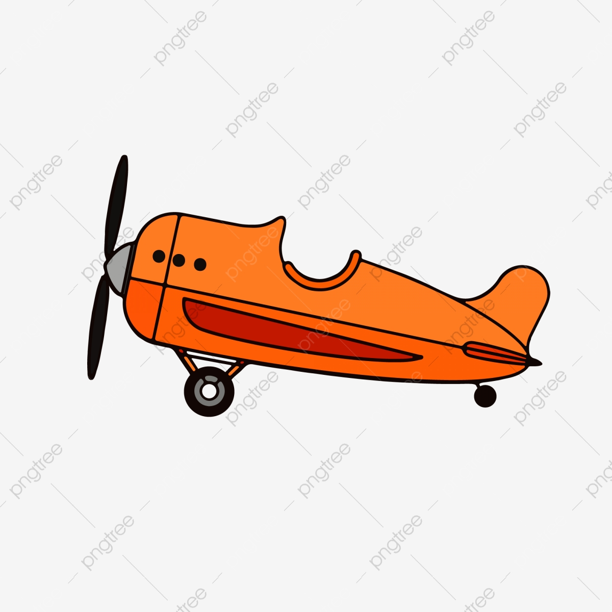 Cute Cartoon Plane Vector Plane Cartoon Plane Cute Plane Png