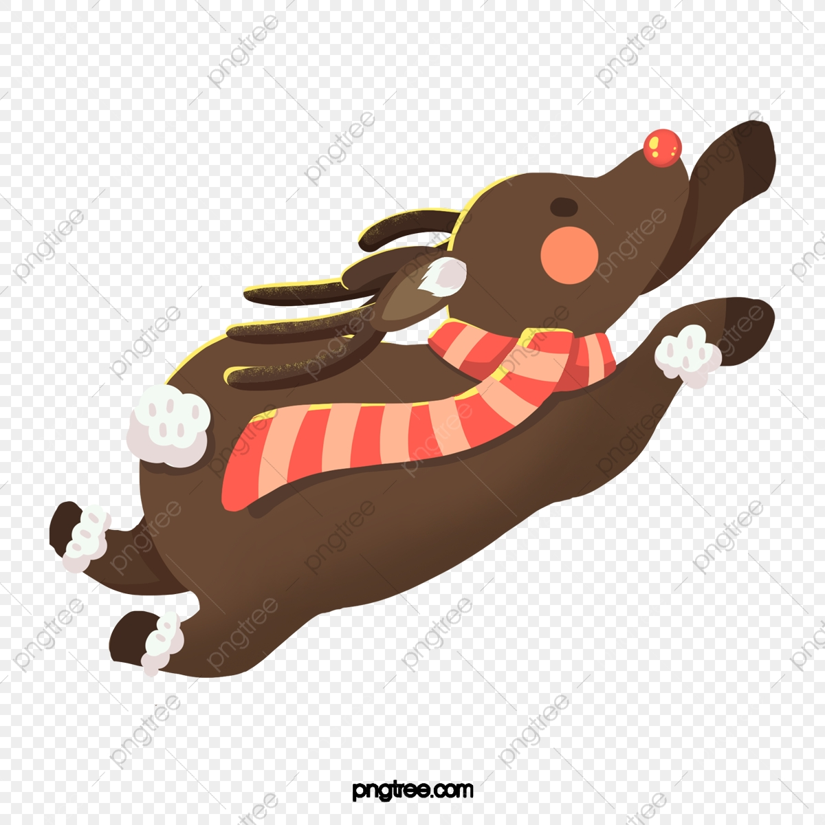 Christmas Reindeer Clipart Vector Images (over 990)