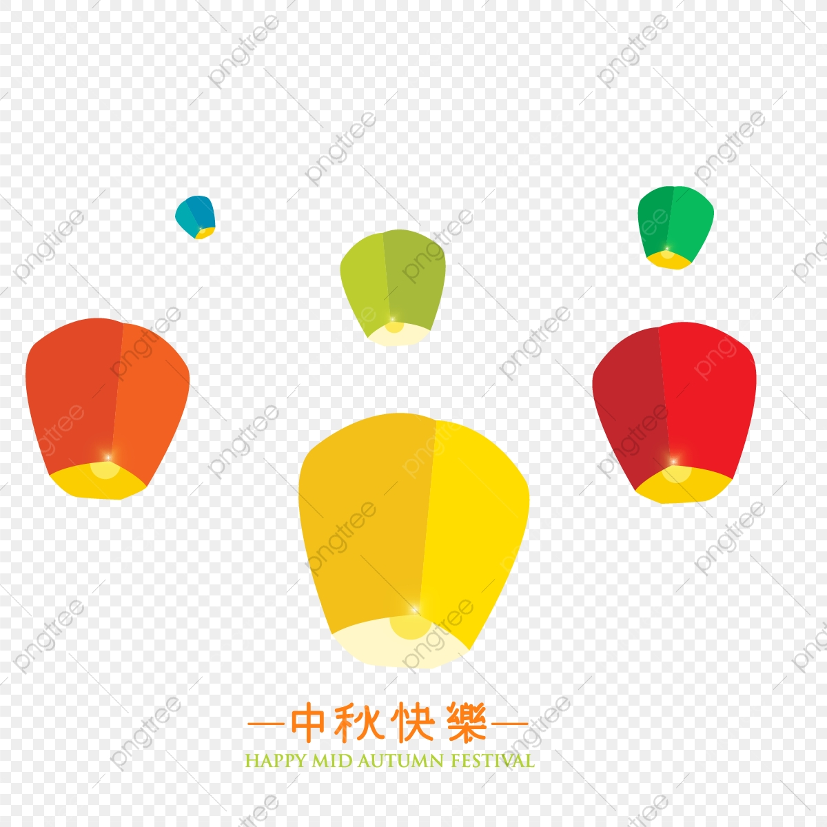 Flying Lantern Background Background Icons Playing Enjoy Png Transparent Clipart Image And Psd File For Free Download