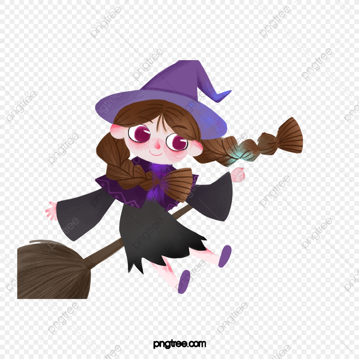 Broom Halloween Clip Art Free | Geographics Clipart for Stationery