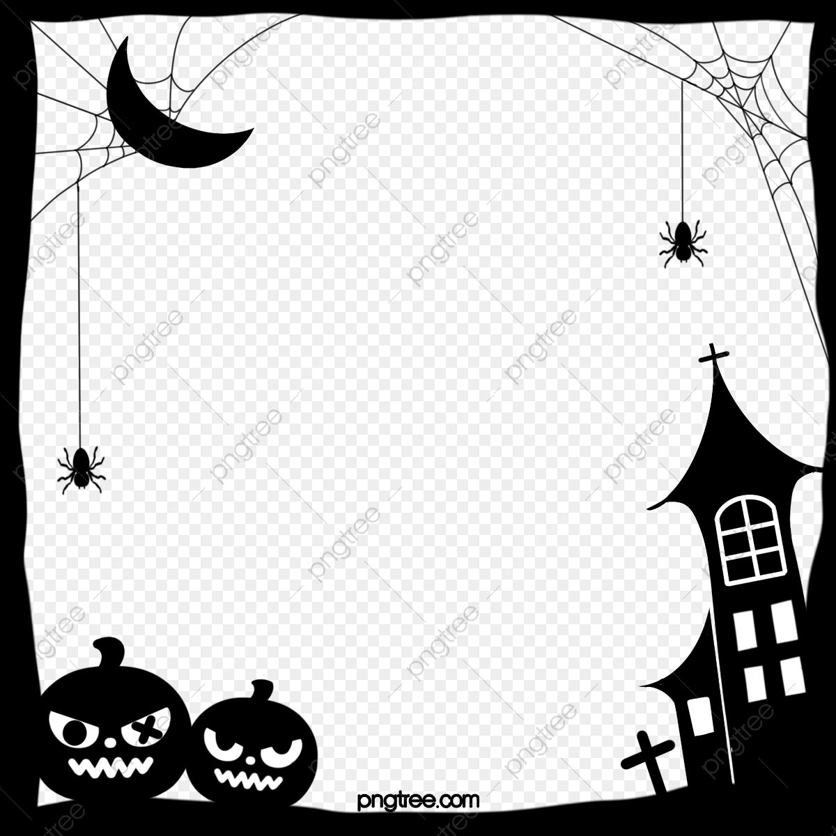 3x3 Halloween Picture Frame Free Shiping