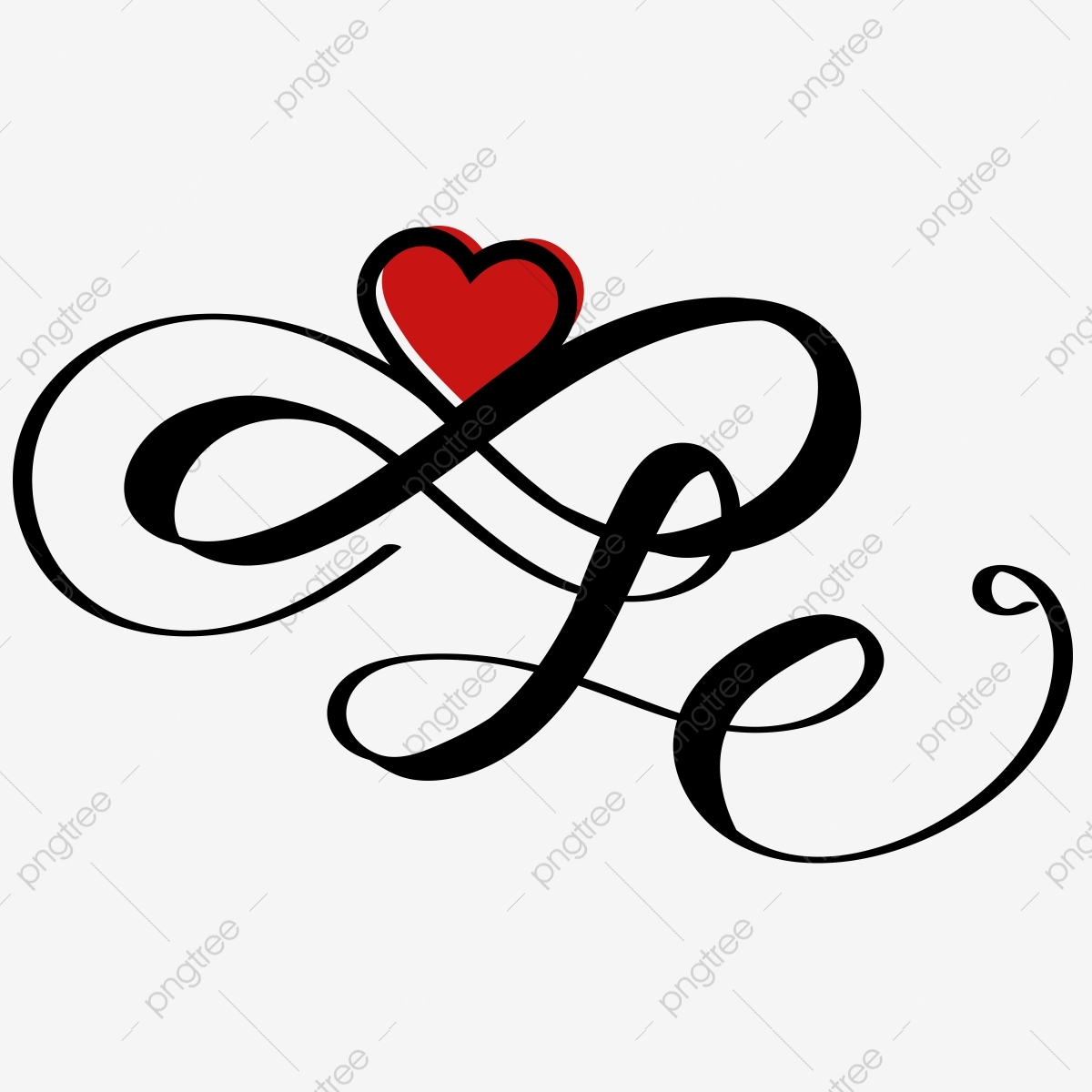 Infinity Heart Png Images Vector And Psd Files Free Download On Pngtree
