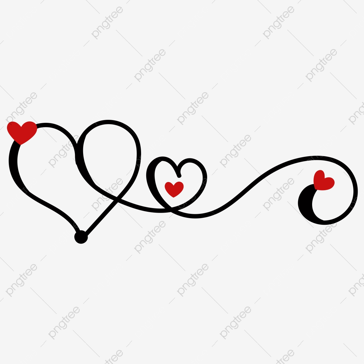 Love The Sign.Love Heart With The Sign Of Infinity Heart Romantic Couple