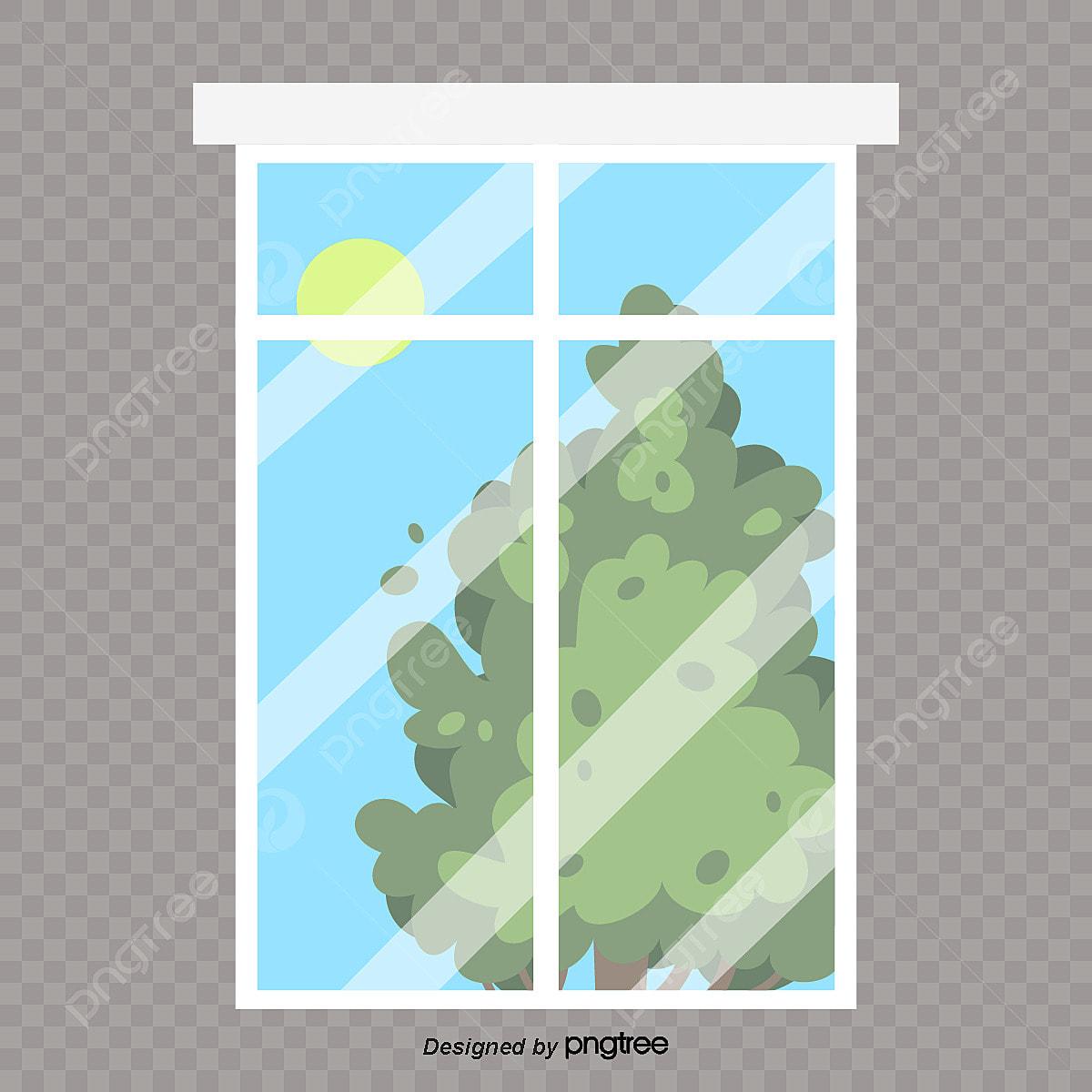 مشهد خارج النافذة نافذة نافذة او شباك خارج النافذة Png والمتجهات للتحميل مجانا