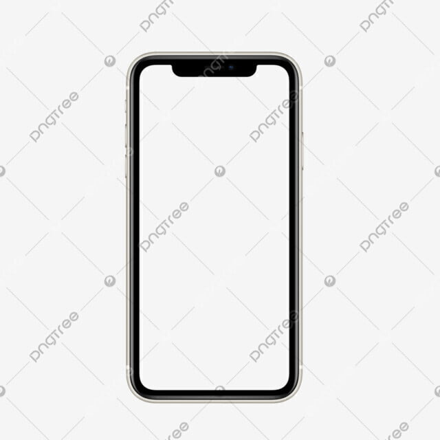 Apple Iphone 11 Pro Max Mockup Shape Transparent Background