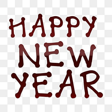 Happy New Year Font 29