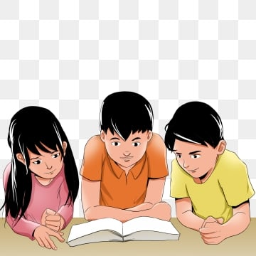 Kids Reading Png Vector Psd And Clipart With Transparent