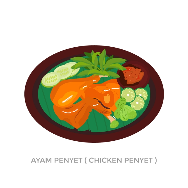 ayam penyet png vector psd and clipart with transparent background for free download pngtree ayam penyet png vector psd and