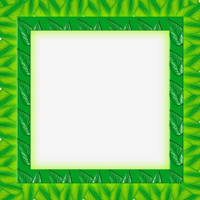 bingkai foto daun warna hijau hijau daun bingkai png transparan gambar clipart dan file psd untuk unduh gratis pngtree