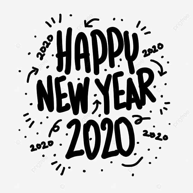 Happy New Year Lettering 30