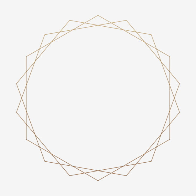 Gold Style Geometric Frame Marriage Lines Graphic Png Transparent Clipart Image And Psd File For Free Download