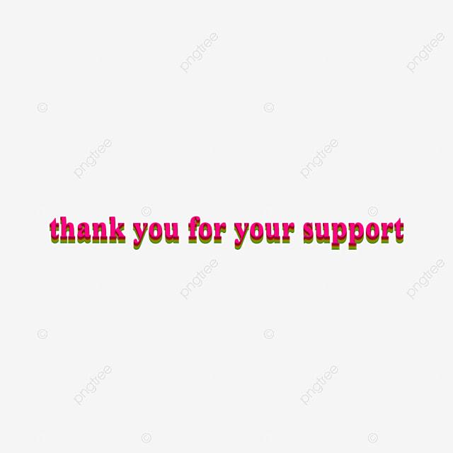 Rose Merci Pour Votre Soutien Effet De Texte Six Couches