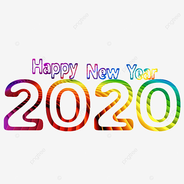 Happy New Year Clipart 2020 75