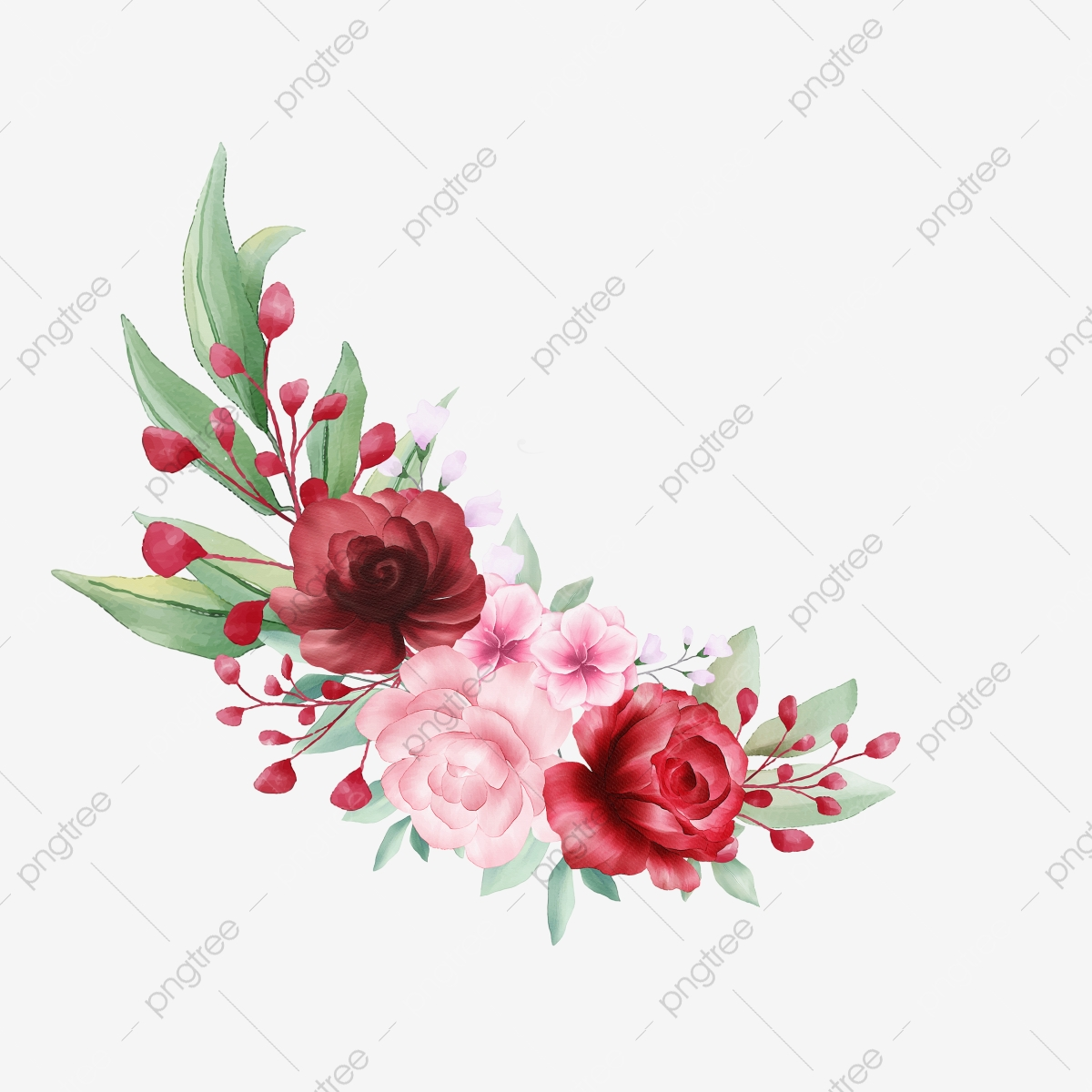 Flower Bouquet Png Vector Psd And Clipart With Transparent Background For Free Download Pngtree