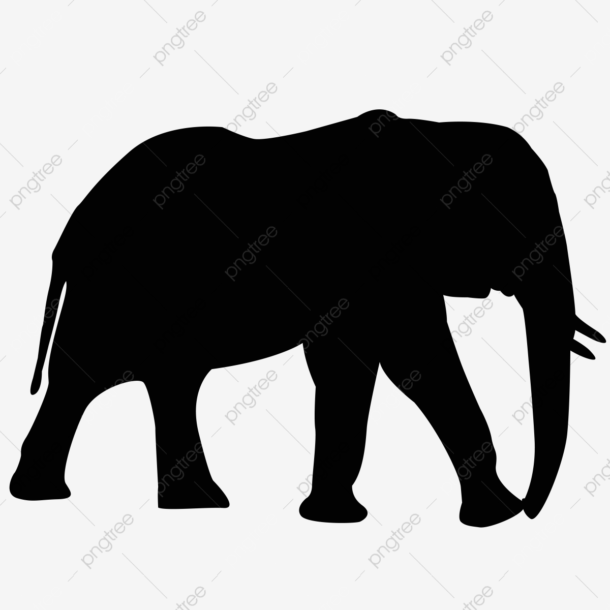 Elephant Png Black – Thin line black elephant on a ball icon, flat vector simple element illustration from.