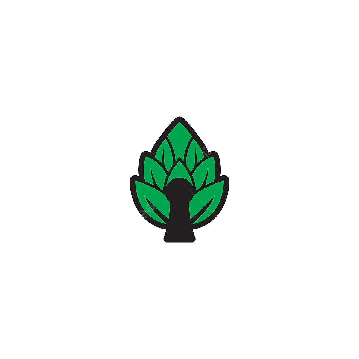 Cerveja Casa Lupulo Logotipo Desenhos Inspiracao Isolado No Branco