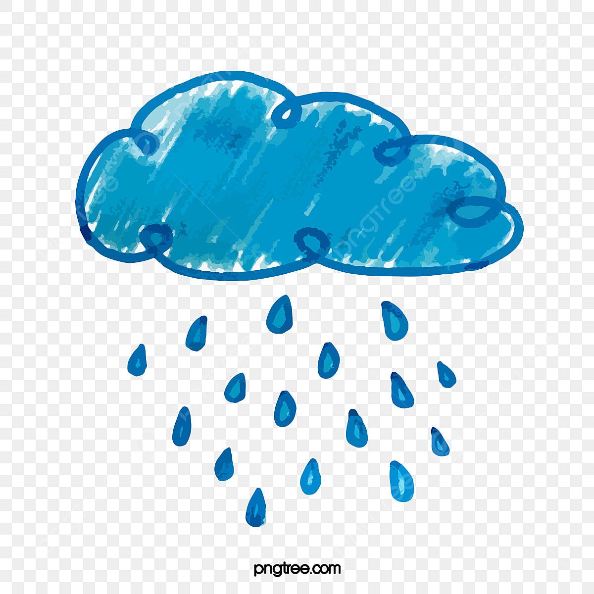 gambar awan hujan air hujan kartun awan hari hujan hujan png dan vektor untuk muat turun percuma https ms pngtree com freepng cartoon watercolor rainy day clouds 5062720 html