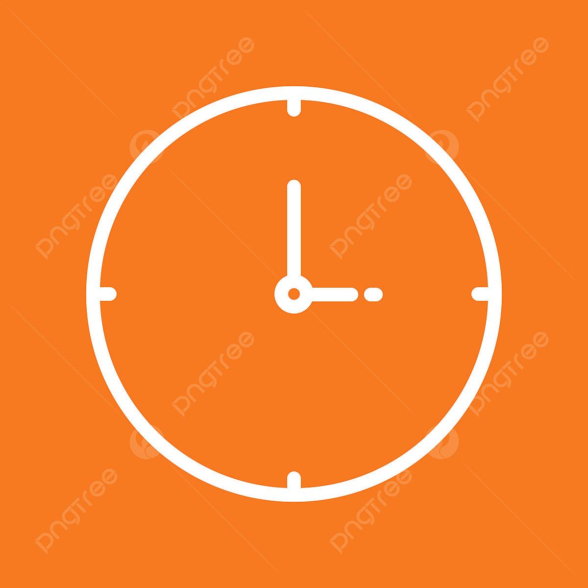 抽象的な背景で隔離の時計アイコン アラーム クロック 時間画像素材の無料ダウンロードのためのpngとベクトル
