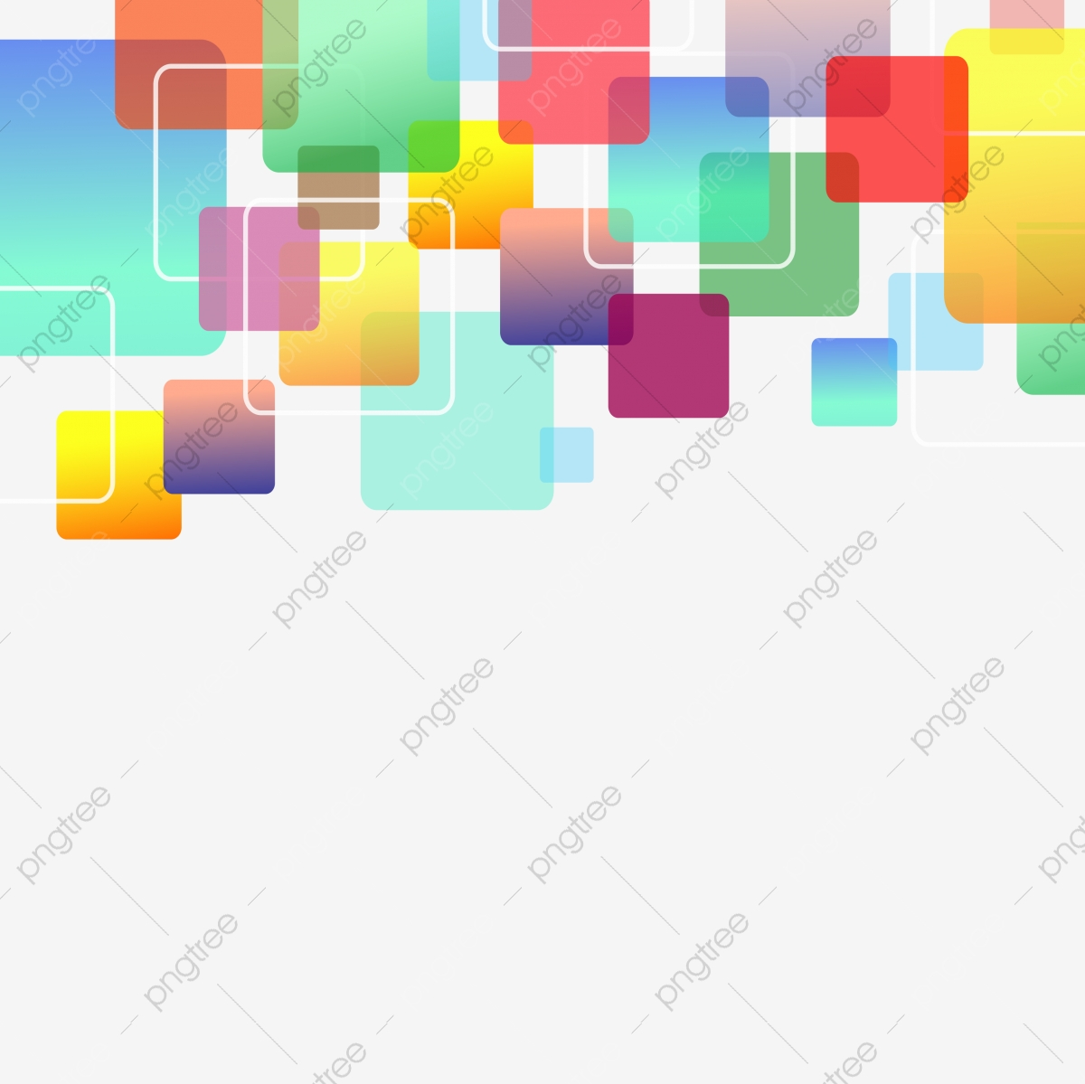 Colorful Abstract Square Pattern Background Abstract Square Geometric Png And Vector With Transparent Background For Free Download