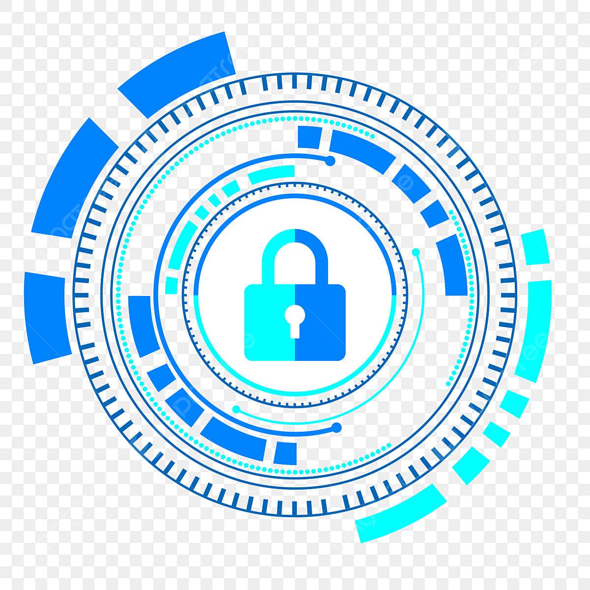 Creative Network Security Logo Free Logo Design Template ...