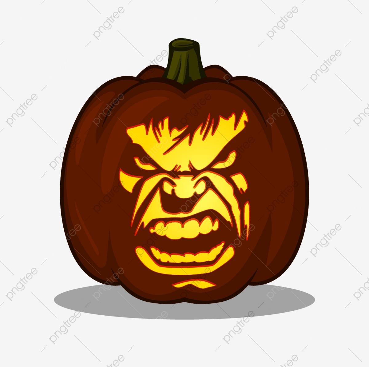 pumpkin template hulk  Hulk Design For Pumpkin Carving Ideas Include Pdf File Ready ...