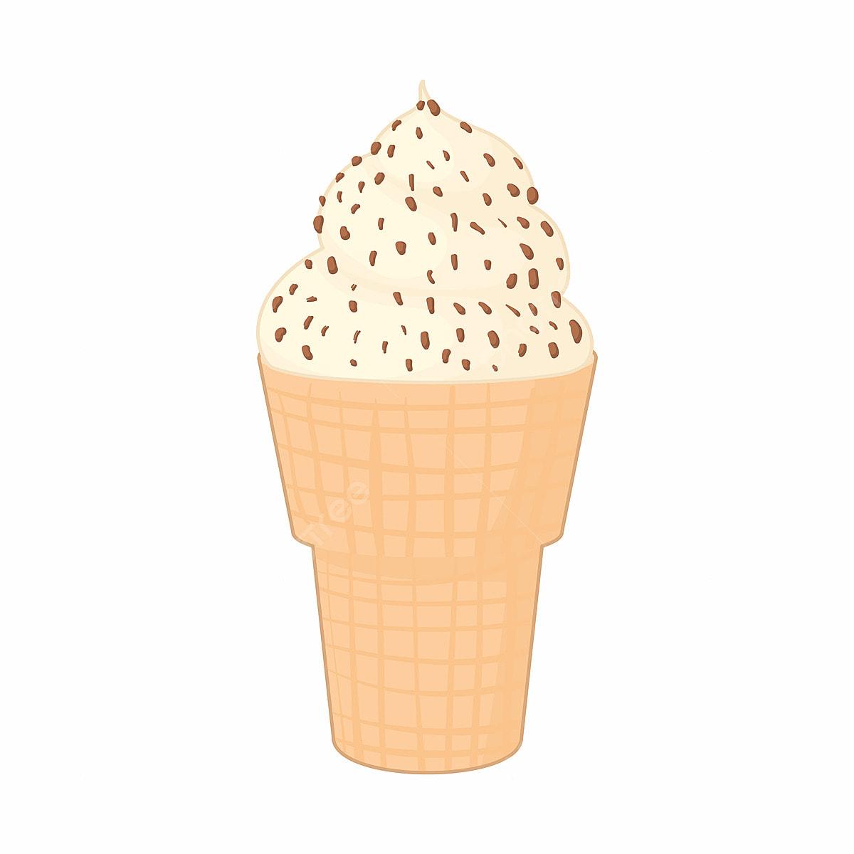 Mint chocolate chip ice-cream cone, watercolor print of mint green ice cream  in brown cone. waterco…   Green ice cream, Ice cream art, Mint chocolate  chip ice cream