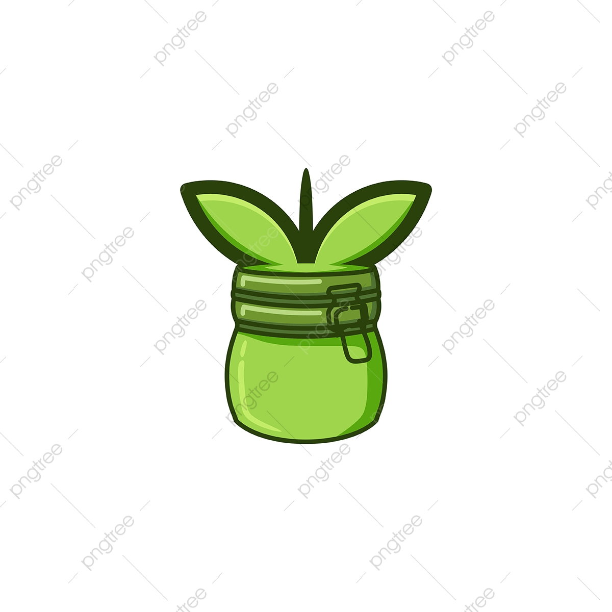 pngtree jar and seed logo designs inspiration isolated on white backgrou png image 5008824